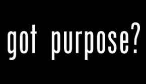 Purpose determines Direction
