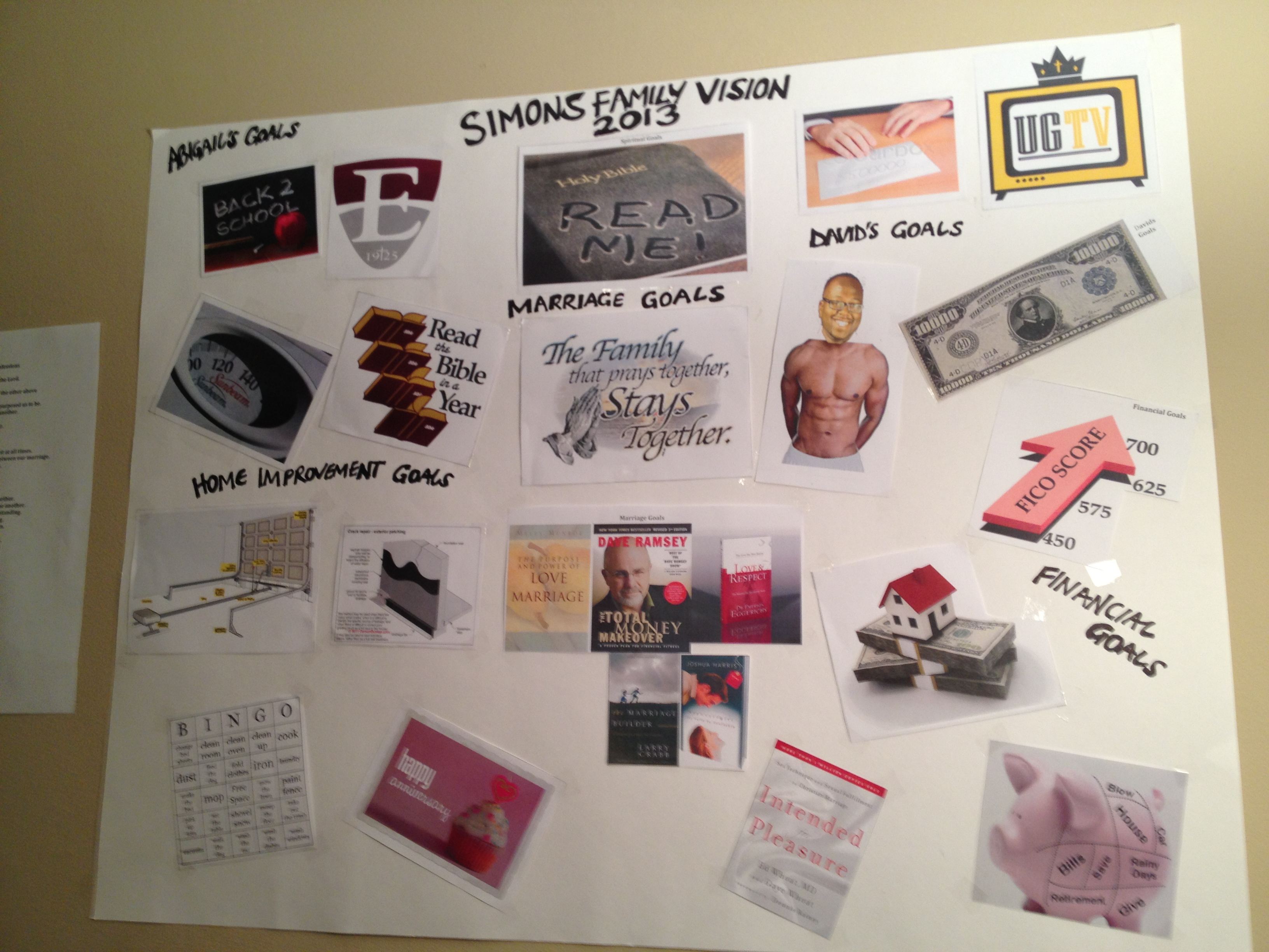 5 reasons why you need to do a vision board