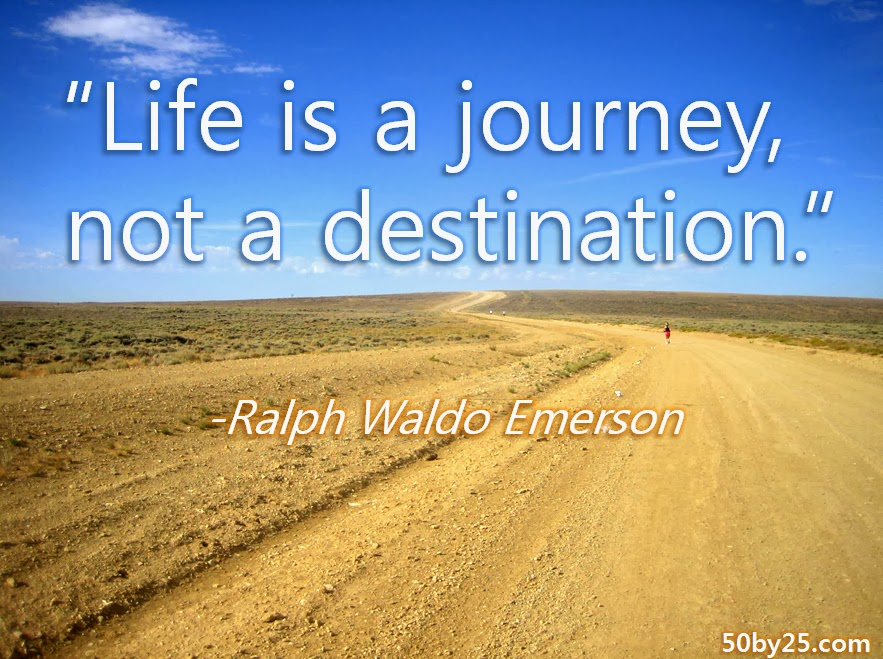 The Journey Is More Important Than The Destination